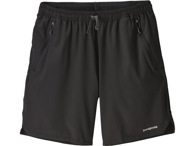 """Patagonia Nine Trails Shorts 8 """" Herrer, sort"""